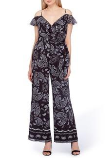 Tahari Chiffon Jumpsuit (Regular & Petite)