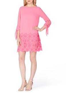Tahari Chiffon Shift Dress