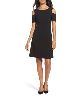 Tahari Cold Shoulder Sheath Dress (Regular & Petite)