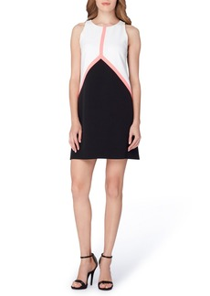 Tahari Colorblock Shift Dress