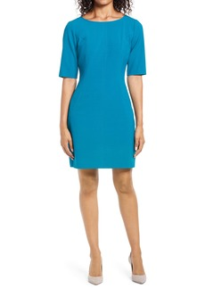 Tahari Crepe Sheath Dress