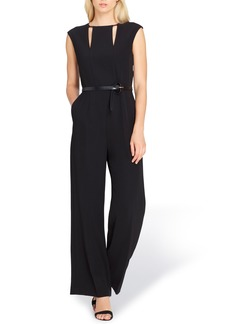 Tahari Cutout Jumpsuit (Regular & Petite)