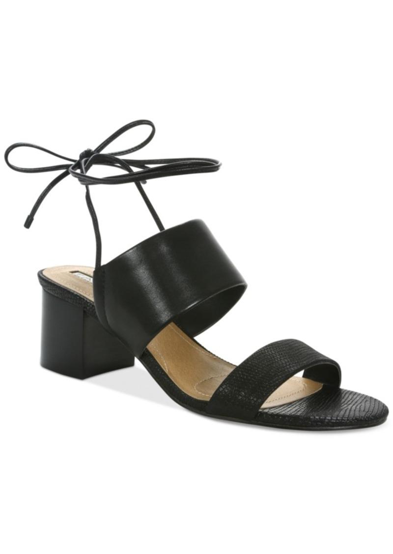 8a861959ba1 Tahari Tahari Doe Lace-Up Sandals Women s Shoes