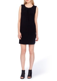 Tahari Embellished Sheath Dress