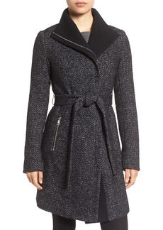 Tahari 'Eva' Belted Tweed Jacket