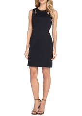 Tahari Faille Sheath Dress