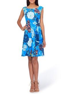 Tahari Faux Wrap Dress