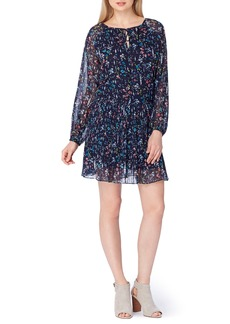 Tahari Floral Drop Waist Dress