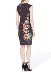 Tahari Floral Sheath Dress