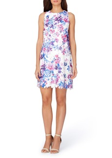 Tahari Floral Trapeze Dress