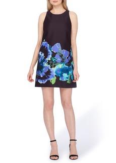 Tahari Floral Trapeze Dress