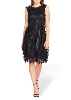 Tahari Floret Embellished Shift Dress