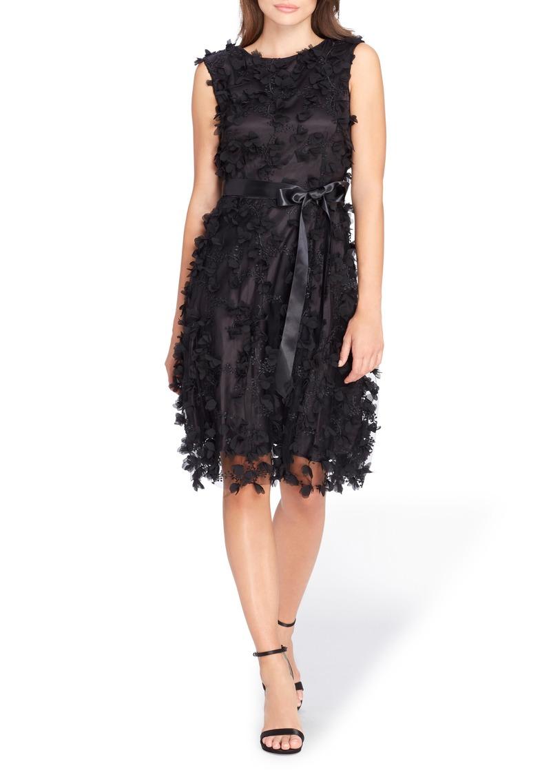 Tahari Floret Embellished Shift Dress