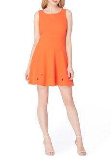 Tahari Grommet Stretch Dress