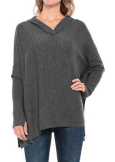 Tahari Hooded Cashmere Poncho (For Women)