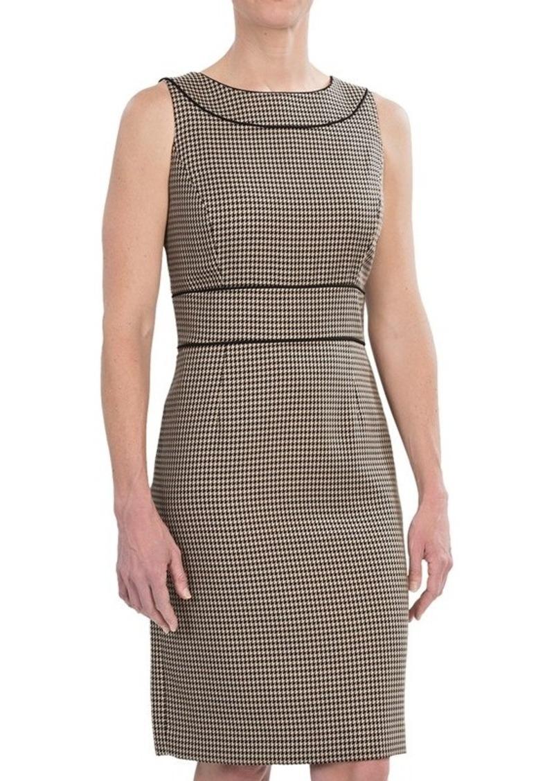 Tahari Houndstooth Dress - Sleeveless (For Women)