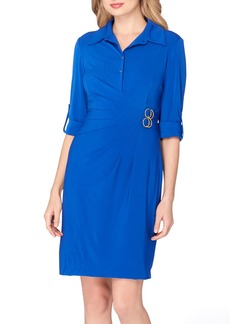 Tahari Jersey Wrap Shirtdress (Regular & Petite)