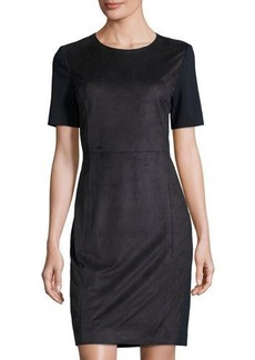 Tahari Jolie Paneled Sheath Dress