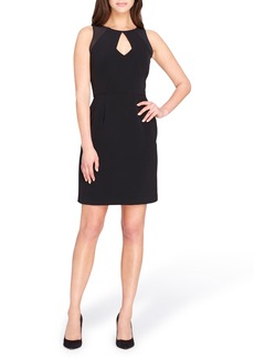 Tahari Keyhole Sheath Dress