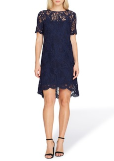Tahari Lace High/Low Dress