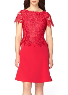 Tahari Lace Popover Dress