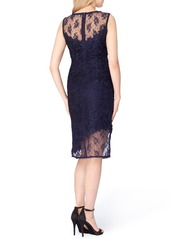 Tahari Lace Sheath Dress