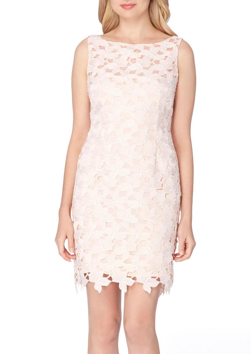 Tahari Tahari Lace Sheath Dress Regular Petite Dresses