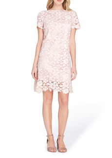 Tahari Lace Sheath Dress (Regular & Petite)