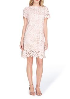 Tahari Lace Sheath Dress (Regular & Petite)