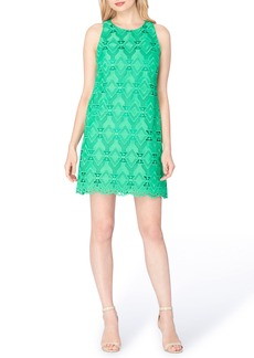 Tahari Lace Shift Dress (Regular & Petite)