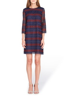 Tahari Lace Shift Dress