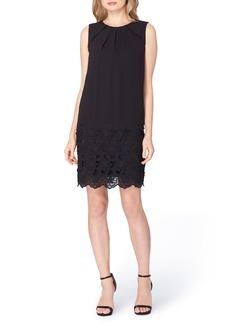 Tahari Lace Shift Dress (Regular & Petite)