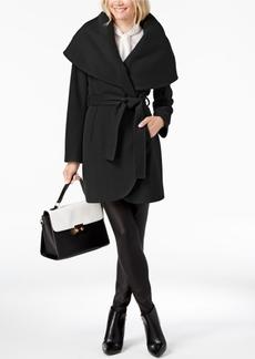 Tahari Marla Belted Wrap Coat