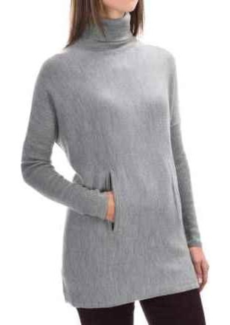Tahari Tahari Merino Wool Turtleneck Sweater (For Women ...
