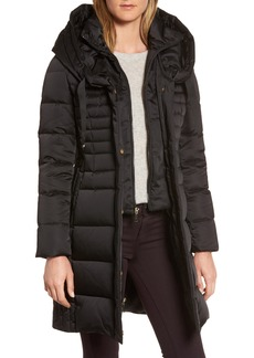 Tahari Mia Down & Feather Fill Coat