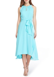 Tahari Midi Fit & Flare Dress (Petite)