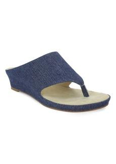 Tahari Mindy Wedge Thong Sandals