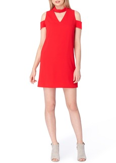 Tahari Mock Neck Dress