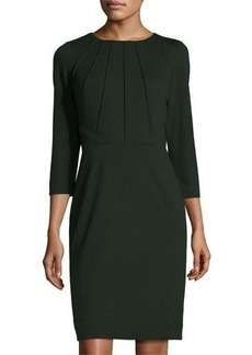 Tahari Monte Seamed Sheath Dress