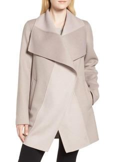 Tahari Nicky Double Face Wool Blend Oversize Coat (Regular & Petite)