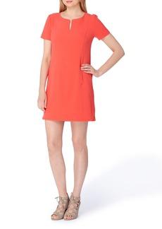 Tahari Notch Neck Sheath Dress