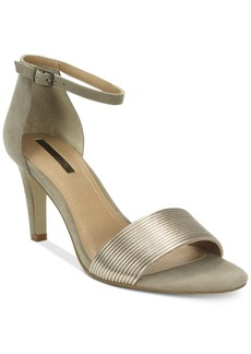 Tahari Novel Two-Piece Ankle-Strap Sandals Women's Shoes