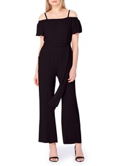 Tahari Off the Shoulder Jumpsuit