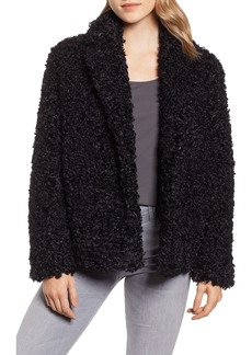Tahari Pepper Faux Fur Coat