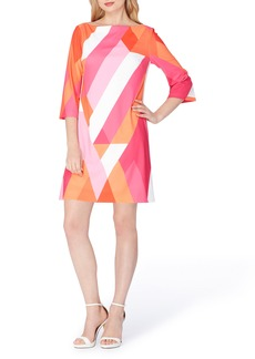 Tahari Print Shift Dress