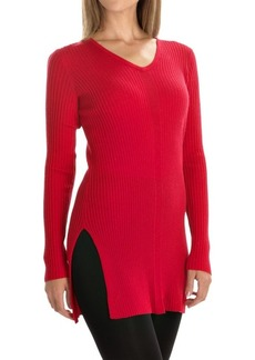 Tahari Rib-Knit Sweater - Merino Wool (For Women)