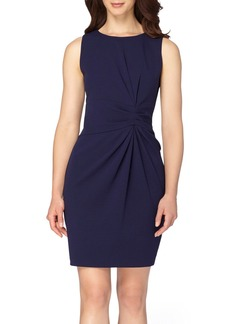 Tahari Ruched Sheath Dress (Regular & Petite)