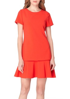 Tahari Ruffle A-Line Dress