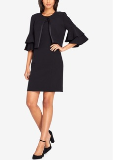 Tahari Asl Ruffled Jacket & Sheath Dress