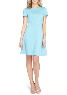 Tahari Scuba Fit & Flare Dress (Regular & Petite)
